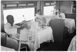 Morning Zephyr to Minneapolis. 3. Dining car between meals