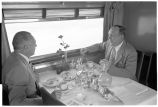 Denver Zephyr en route to Denver. 2. Dining car