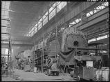 Steam locomotive repair shops-W. Burlington, Iowa