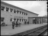 Platform at CB&Q station-Burlington, Iowa