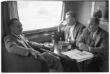 Denver Zephyr-Passengers in observation-lounge car