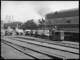 Supplies being taken to passenger train-14th St. passenger yards. Chicago, Ill.