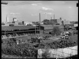 Industries by railroad track-Lincoln, Nebraska