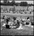 Ill.-Lake Storey picnic grounds near Galesburg-Memorial Day