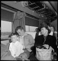 "Illinois-Passengers aboard ""Little Zephyr"" bound for Chicago"