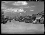 Part of Main Street, Gilette [i.e. Gillette], Wyo.