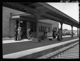 Passengers waiting for train-La Crosse