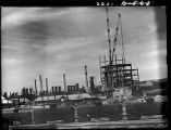 Casper, Wyo.-Refinery and tank cars