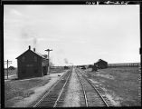 Powder River, Wyoming-Train station