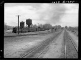 Bonneville, Wyo.-Railroad yards