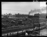 Denver, Colo.-Stockyards and CB&Q freight locomotive