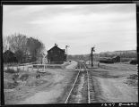 Lysite, Wyoming-Train station