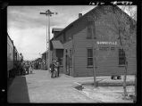 Bonneville, Wyoming-Railroad station