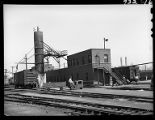 Train master's office, 14th Street passenger yards, Chicago, May 1948