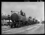 Loading tank cars with chemicals-Consolidated Chemical Industries, Inc., Ft. Worth
