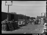 Denver-Activity on loading platform of waste paper company
