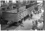Working on railroad car rebuilding line-Havelock, Nebraska