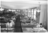 Drafting and engineering department, Burlington Railroad office, Chicago, June 1948