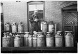 Checking shipment of milk-Lincoln, Nebraska