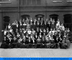 Juniors Class in 1917 at the National Kindergarten and Elementary College.