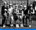 Sutherland Hall groundbreaking ceremony, September 1965.