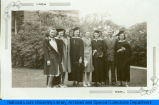 National College of Education students, graduation, 1940, 1