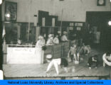 Students playing at the Children's School of the National College of Education.(NEW)