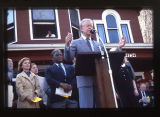 Jimmy Carter Speaking to crowd