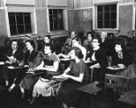 Classroom in Old Main (1956?)