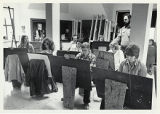 Art Department 1975, Students in drawing class in Wilson Hall