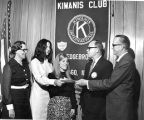 Presentation with Kiwanis Club of Edgebrook (1970S?)