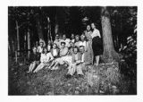 Quarnstrom Picture Collection--Workers at Christopher Lake Junior Camp