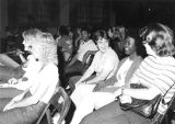 Students in College Chapel (Orientation?) (1980S)