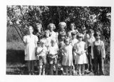 Quarnstrom Picture Collection--A Summer Vacation Bible School Held at Norbuck, Alberta, Canada