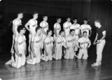 Baseball Team In New Gym, 1961
