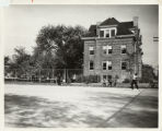 Tennis Court Alongside Wilson Hall, 1925