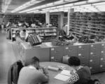 First Floor Stacks and Reading Area, ca. 1960s
