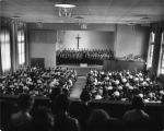 North Park Choir in Chapel, ca. 1950s-60s