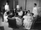 Homecoming banquet Sohlberg Lounge 1959-60