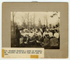 N.R. Goranson with first college choir. Music Director from 1894 to 1904.