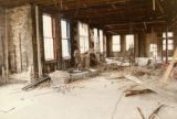 Interior of Old Main Renovation, 1985