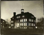 Old Main at Night, ca. 1940s