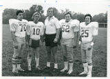Fred Battaglia, Scott Groot, Coach Bill Anderson, Sam Suitca, Jim LaPalermo, College Football