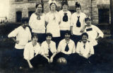 Girls Basketball Team, 1914