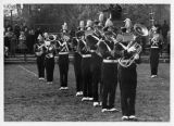 North Park College Band on Football Field, ca. 1960s
