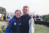 Coaches Kari Kluckhohn and James Nethery, Chicago Marathon