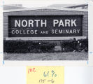 Buildings and Architecture, North Park College and Theological Seminary