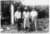 T.W. Anderson in the Congo with two other men, 1953