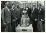 Dedication of Lina Sandell Statue, 1976