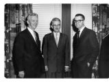 Conrad Bergendoff, Norman Burns, Karl A. Olsson, North Park College